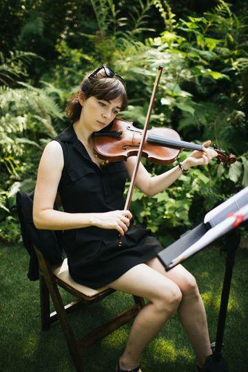 Violinist Maggie