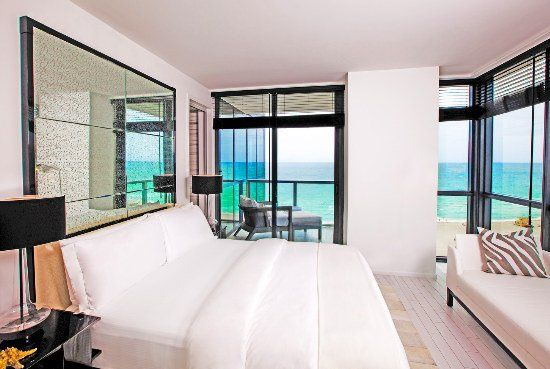 W South Beach Bedroom