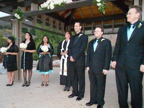 Awaiting the bride