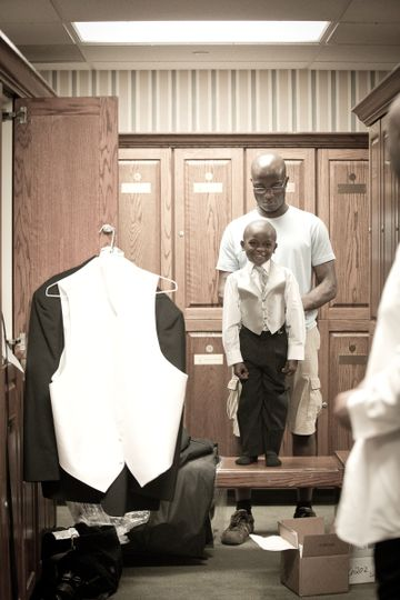 Ring Bearer Pride - Perfette Photography
