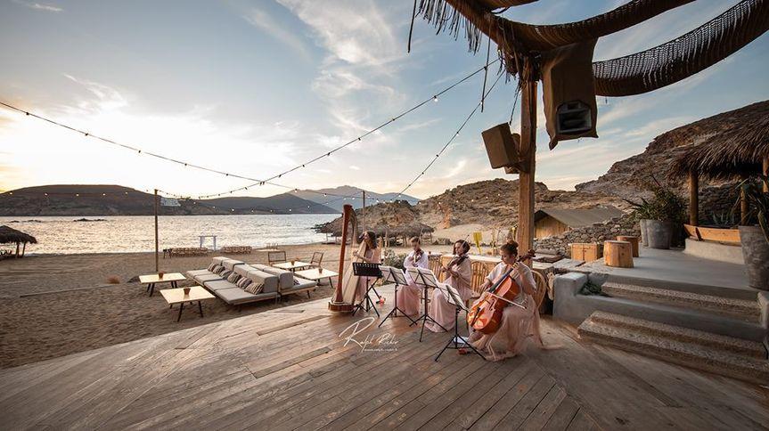 Harp Quartet In Mykonos
