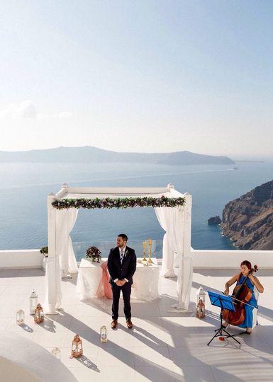 Solo Cello -Santorini