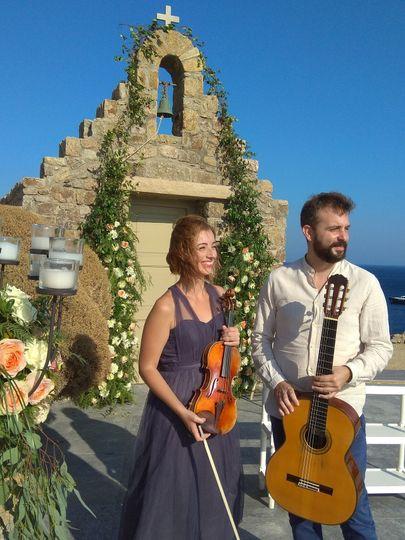 Duet Violin and Guitar