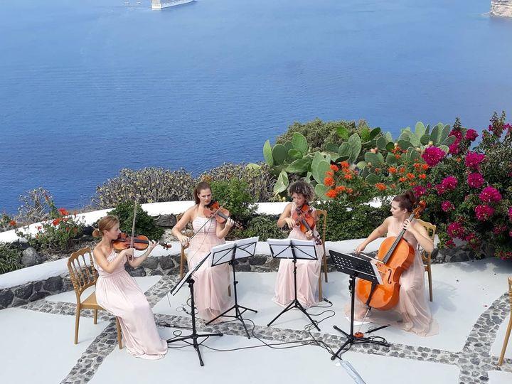 String Quartet-Santorini