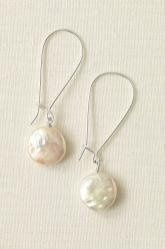 Coin Pearl Earrings  Lucious freshwater pearls. These versatile earrings can easily go day into...