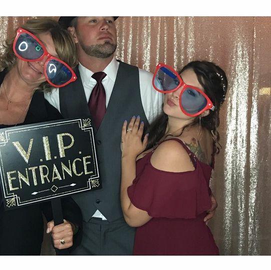 VIP entrance!