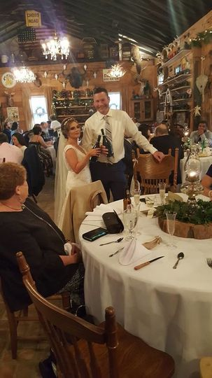 Husband and bride