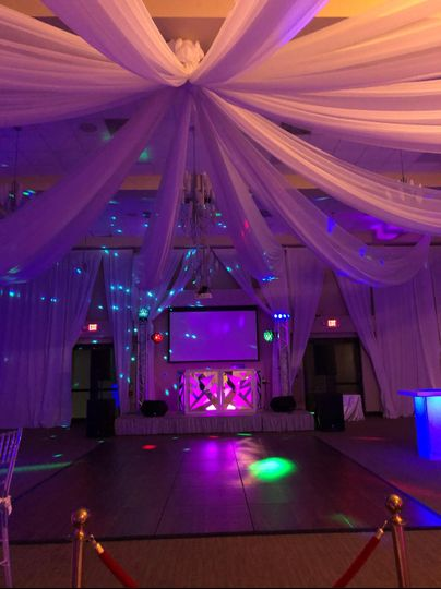 Venue Up Lighting