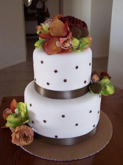 CakeBrownDots