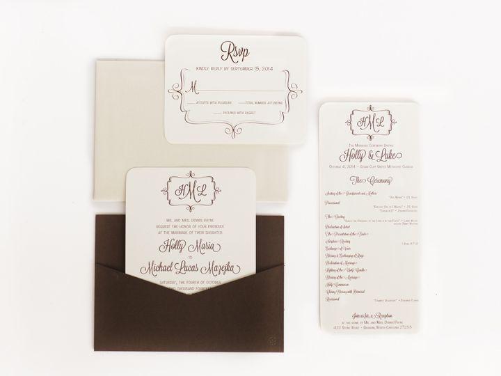 Tmx 1465488738181 Julie F Burlington wedding invitation