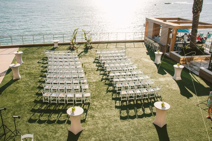 Ceremony event lawn