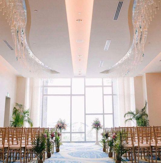 Opal foyer ceremony