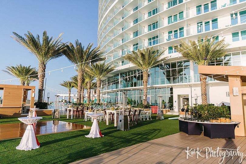 Event lawn outdoor reception