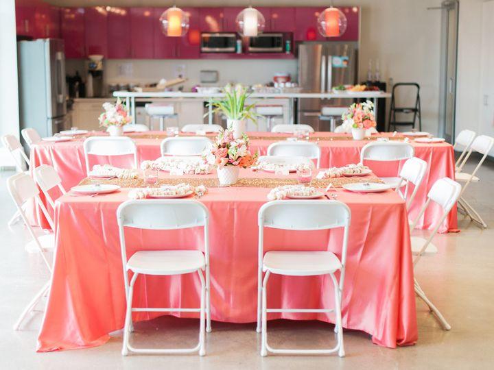Tmx 1471904305468 Coral And Gold Table Set4 Hillsboro wedding rental