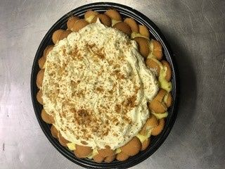 House-made banana pudding