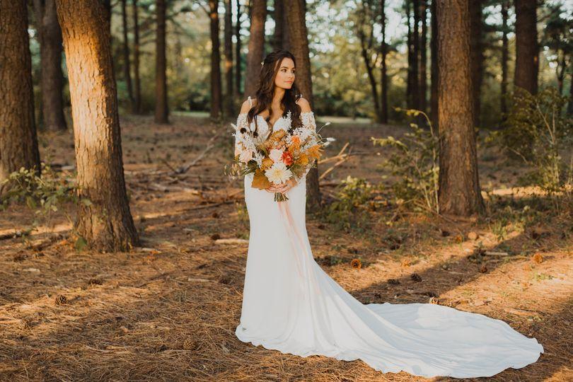 Little woodland fairy bride!