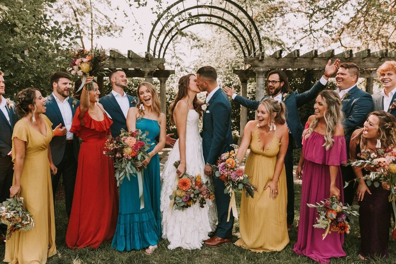 The most fun wedding party!