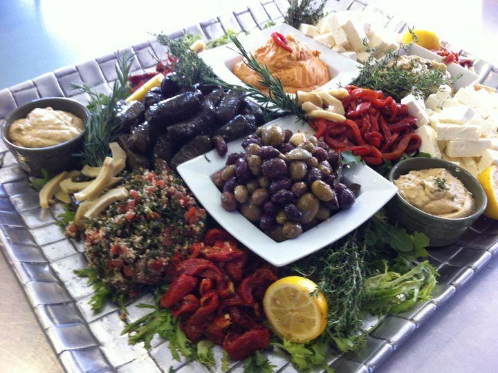 Tmx 1396710445232 Mediterranean Displa Essex, MA wedding catering
