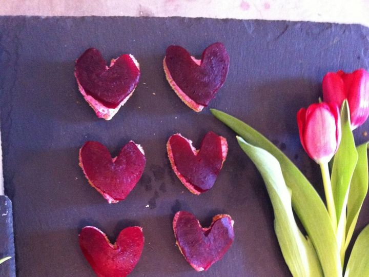 Tmx Heart Shaped Beet And Goat Cheese Crostinis 51 118492 158387487255267 Essex, MA wedding catering