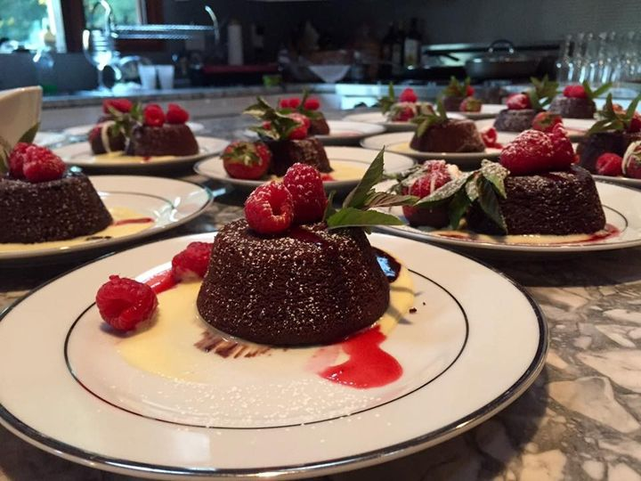 Tmx Molten Lava Cake With Raspberry Coulis And Fresh Raspberries 51 118492 158387529185131 Essex, MA wedding catering