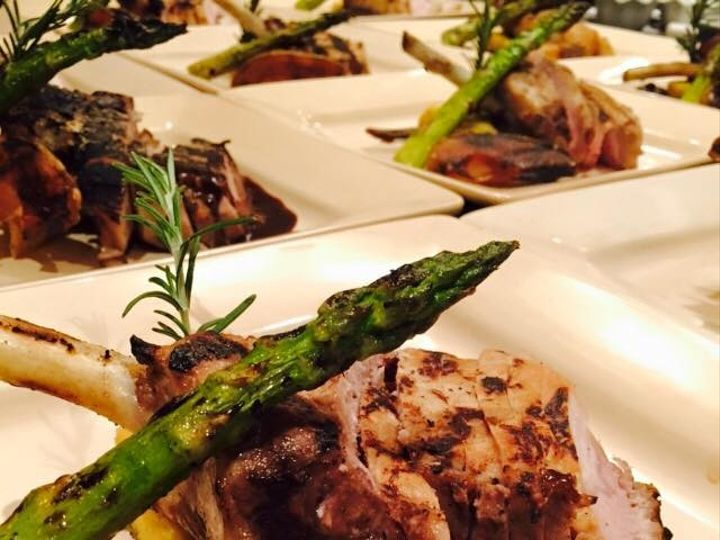 Tmx Pork Chop With Cherry Demi Asparagus And Roasted Pear 51 118492 158387510383352 Essex, MA wedding catering