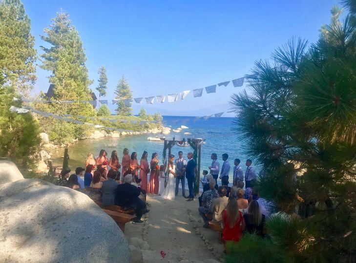 Summer Lake Tahoe Paradise