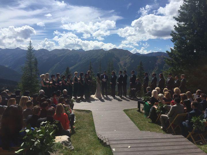 Grand Lake Wedding Ceremony