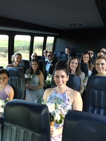 Bridal Party in Sprinter