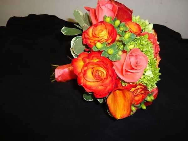 Warm themed bouquet