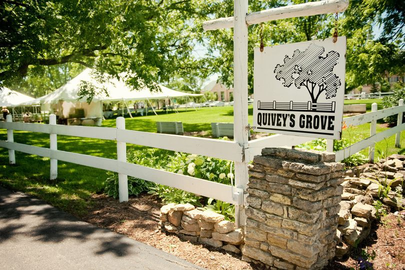 Entrance of Quivey's Grove