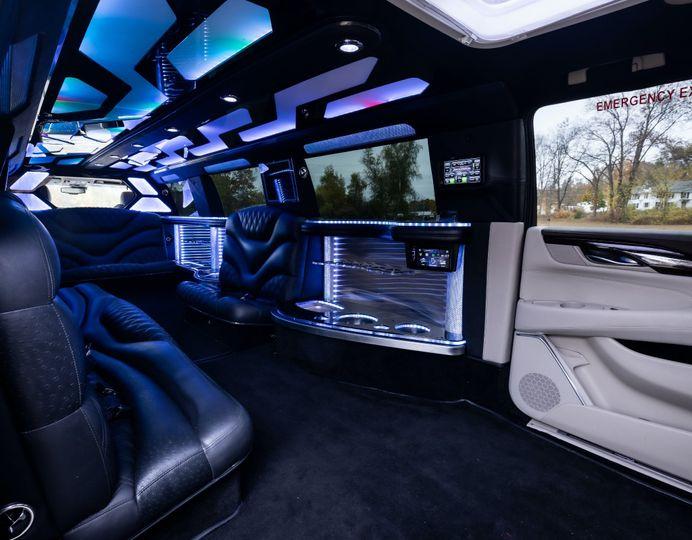 Cadillac Limo Interior