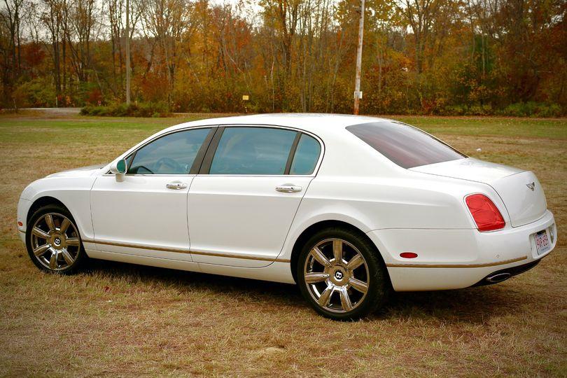 Bentley exterior view