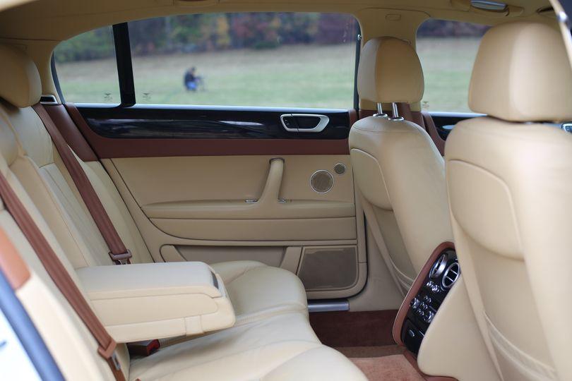 Bentley interior view