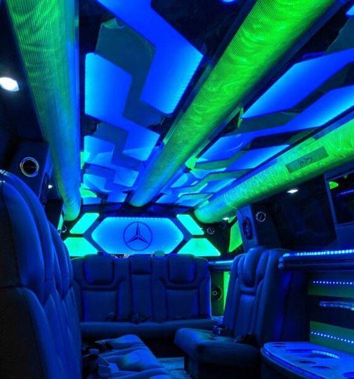 Mercedes GLS limo Interior