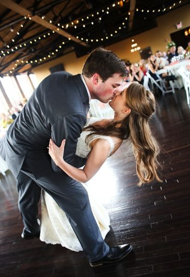 John and Betsy share their first dance | Photo by Katy Cook Photography