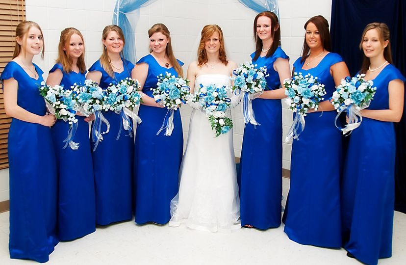 Seven Sisters in Royal Blue