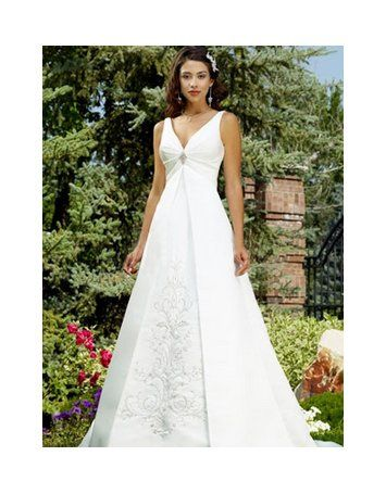 This is a line wedding dress from Dressni.com. Dressni wholesale a lot of stylish a line wedding...
