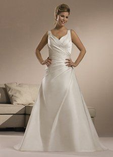 This is plus size wedding dress from Dressni.com. Dressni wholesale high quality plus size wedding...