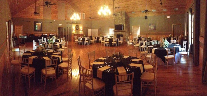 Newly remodeled banquet facility with seating for up to 150 guests.