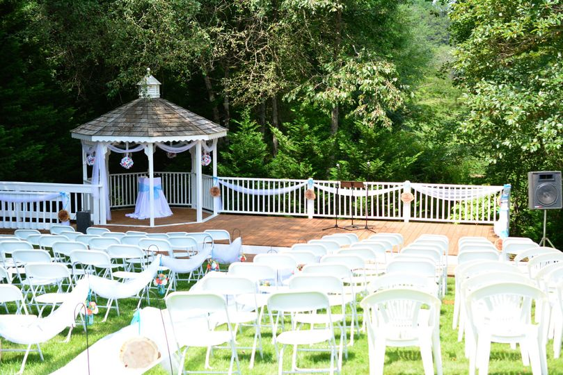 An intimate setting for your ceremony.
