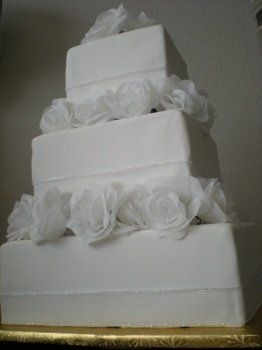 Tmx 1225848856669 Whiteelegance Grapevine wedding cake