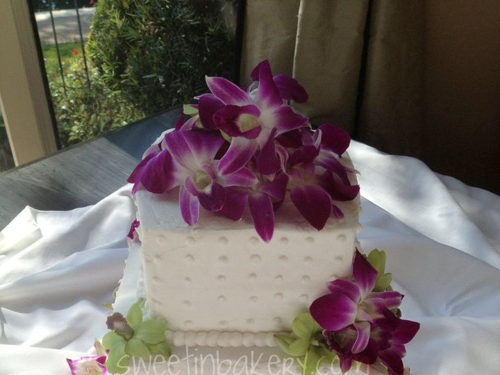 Tmx 1348348886863 Cubes Grapevine wedding cake
