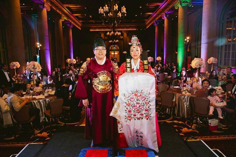 Korean Pae Baek Ceremony