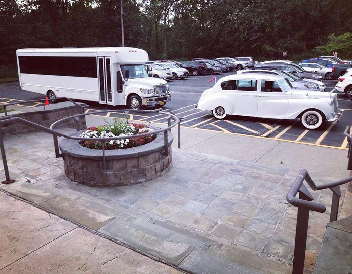 Princess & limo bus