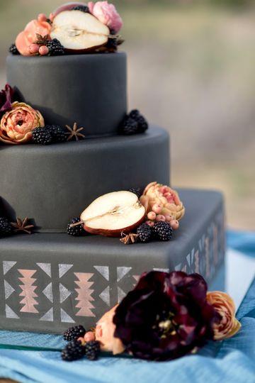 Blackberries, Pears, Floral
