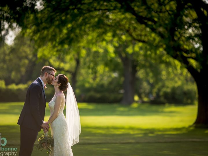 Tmx Bride Groom On Course Kissing 51 570692 158182187782768 Wood Dale, IL wedding venue