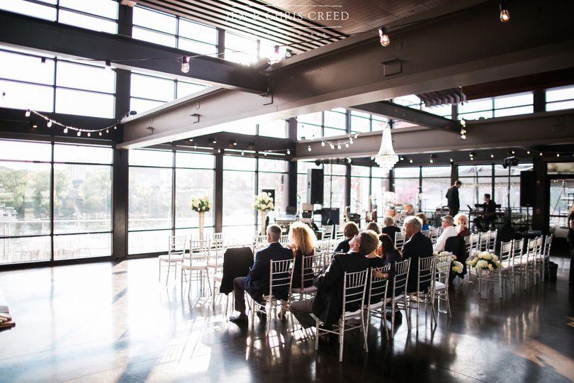 Nashville waterfront wedding