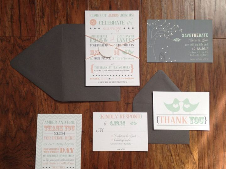 Tmx 1401463417383 Screen Shot 2014 05 30 At 11.12.16 Am Spring City wedding invitation