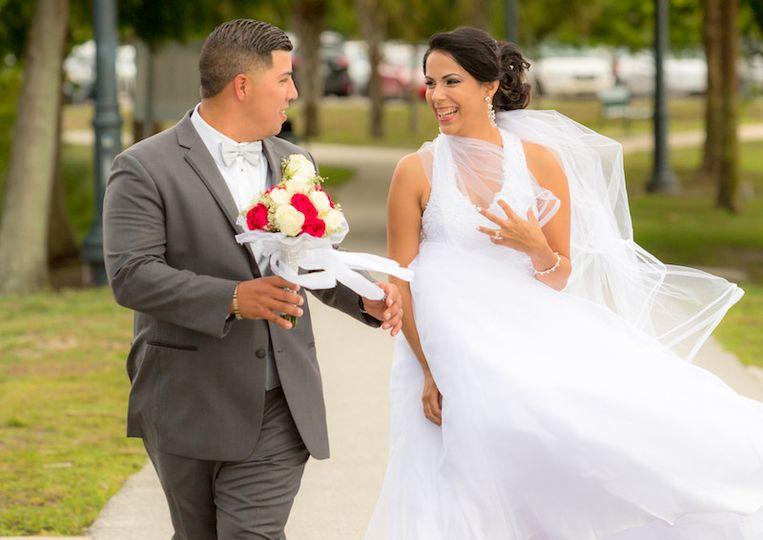 Romantic DIY wedding in St. Cloud Florida