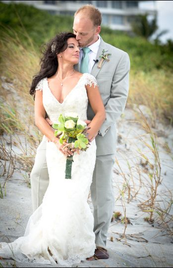 Beach ceremony followed by cocktail hour at the Sundy House in Delray Beach, FL I offer elegant...
